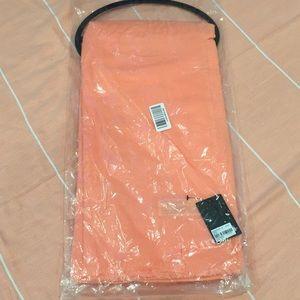 F21 orange scarf